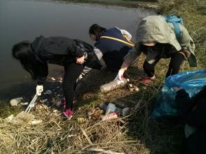 광주 세계 물의 날 기념  영산강 답사 및 정화 활동1