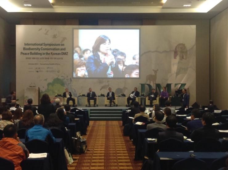 국제회의장서 환경부-통일부 볼썽사나운 언쟁 1