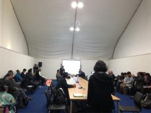 국제회의장서 환경부-통일부 볼썽사나운 언쟁 2