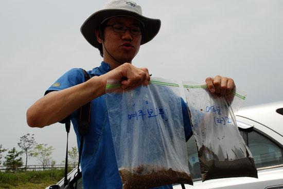 남한강 뒤덮은 큰빗이끼벌레 호수화 증거 4