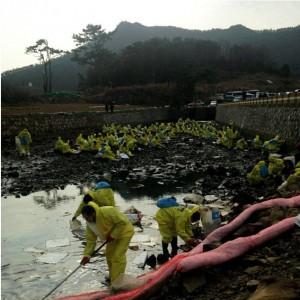 여수 기름유출 사고 소량이라던 유출량이 164톤6