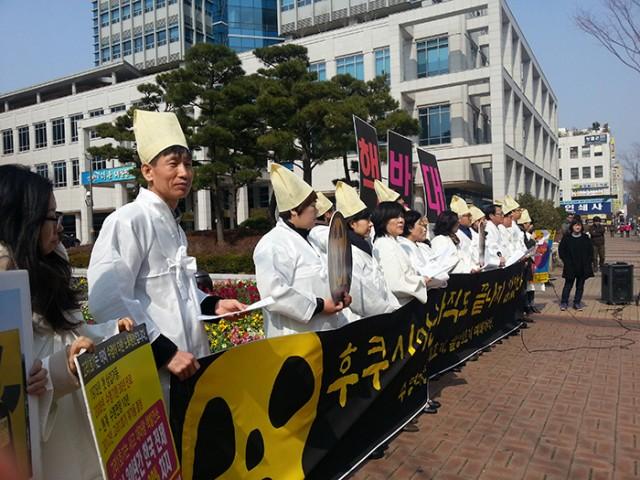 울산 기자회견 후쿠시마는 아직도 끝나지 않았다2