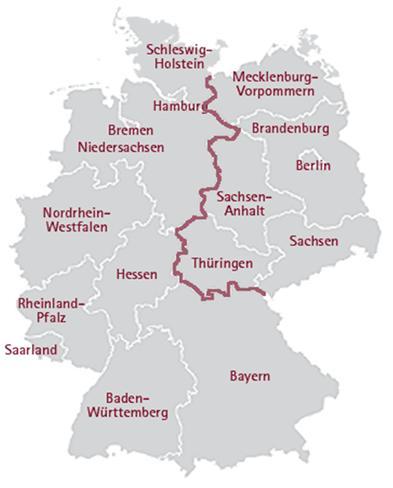 중요한 생태축이 된 독일의 DMZ  그뤼네스반트는 어떻게 만들어졌나 3