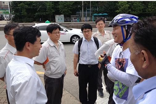 해양투기 자전거캠페인 인천 최대의 산업폐수 해양투기업체 CJ제일제당4