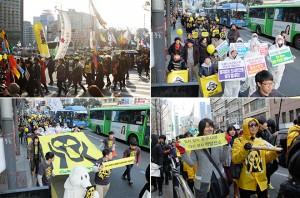 후쿠시마3주기  시청광장을 가득 채운 희망의 바람들9-2