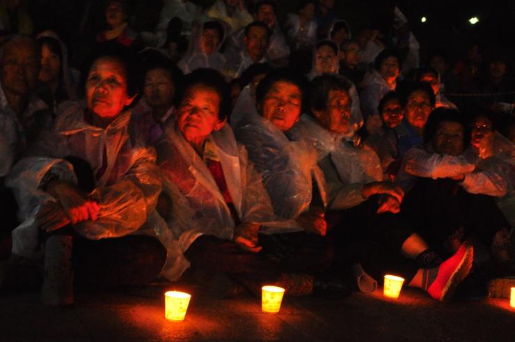 59개 국제 시민단체도 한국의 밀양 송전탑 주민들과 함께합니다1