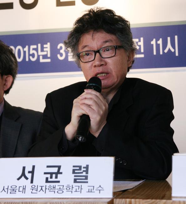 서울대 원자력공학과 서균렬 교수 ⓒ정대희
