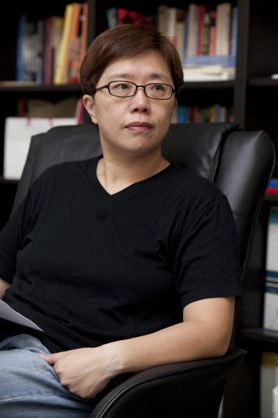 ▲ 대만대학 사회학과 류화젠 부교수 모습 ⓒ 류화젠