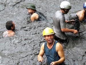 베트남 석탄 홍수 피해