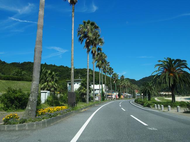 야마구치현 스오오시마의 하와이언 로드