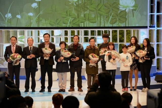 제8회 SBS 물환경대상 수상자 ⓒ박용훈