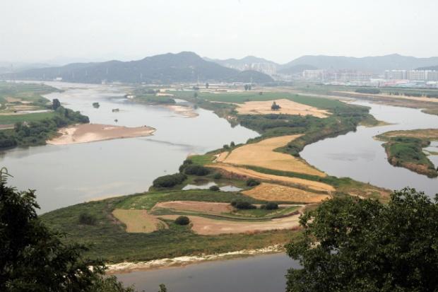 4대강사업 전 낙동강 ⓒ함께사는길 이성수