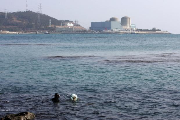 부산시가 기장군에 공급하겠다는 수돗물은 고리원전에서 불과 11킬로미터 떨어진 바닷물이다 ⓒ함께사는길 이성수
