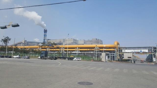 석탄을 때서 철강을 생산하는 당진 현대제철소 전경 Ⓒ환경운동연합
