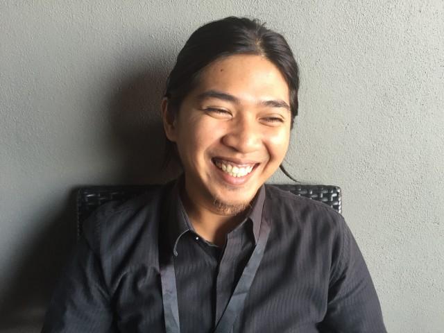 지구의벗 인도네시아 활동가 Kurniawan Saber. 발음하기 어렵다고 하자 와완(wawan)이라 부르라며 해맑게 웃는다. ⓒ김혜린