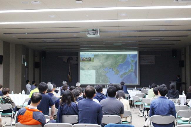 철새 서식지 관리자 워크숍 중인 모습 ⓒ 환경운동연합 김현경