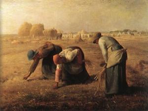 거룩한 노동을 하는 땅의 사람들 Copyrightⓒ 밀레, 이삭줍기