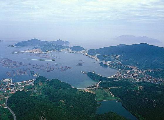 흑산 예리항(사진출처 신안군)