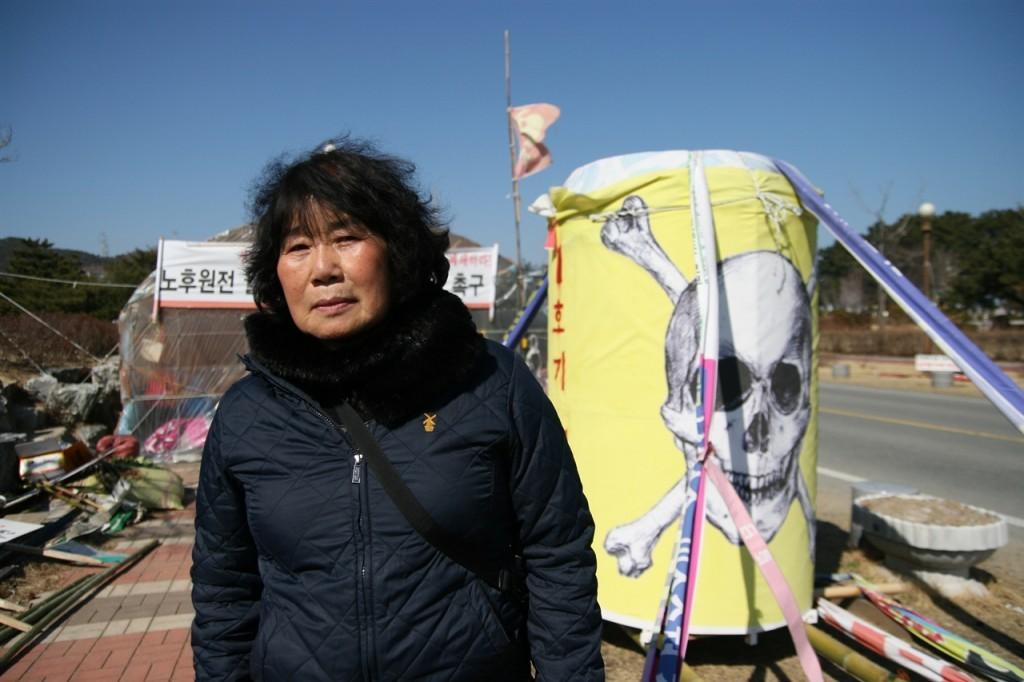 월성원전 인근에서 30년간 거주하는 황분희(67) 어르신은 지난 2012년 갑상샘암 수술을 받았다. ⓒ 정대희