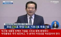[논평] 국회의 박근혜 대통령 탄핵안 가결을 시민과 함께 환영한다