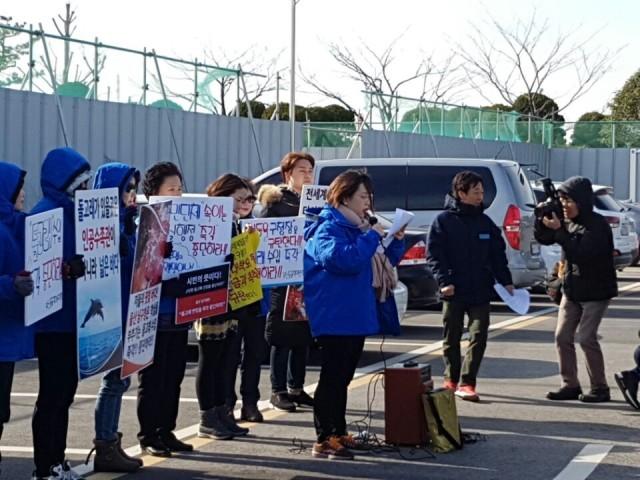 ©울산돌고래수입반대
