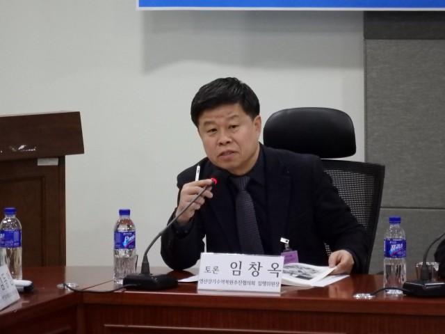 임창옥 영산강기수역복원추진협의회 집행위원장ⓒ한강유역네트워크