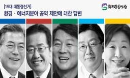 [보도자료] 19대 주요 대선 후보, 환경연합 제안 28개 환경·에너지 정책 적극 수용