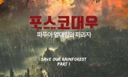 [카드뉴스] 포스코대우: 파푸아 열대림의 파괴자