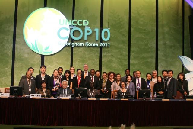 UNCCD COP10 창원_에코피스아시아 제공