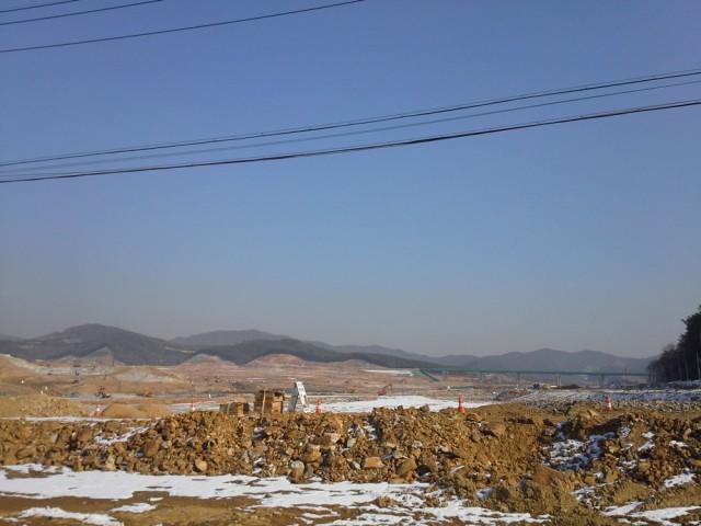 경기화성 동탄신도시 5공구일대공사 장면 ⓒ화성환경운동연합