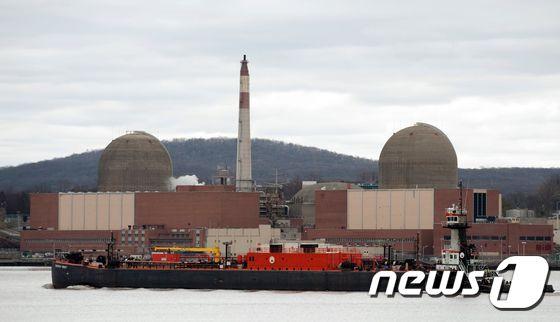 미국 뉴욕 인디언포인트 원자력발전소(자료사진) © AFP=뉴스1