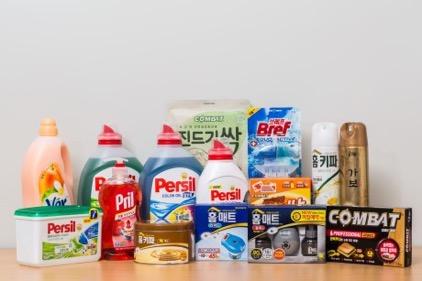 헨켈이 한국시장에서 판매하는 주요 제품들  ⓒ 네이버 지식백과