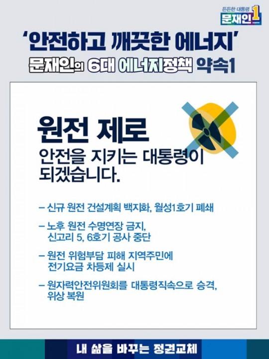 원자력안전위원회 개혁을 공약한 문재인 대통령