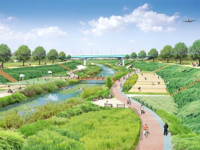 2008년-당시-환경단체가-제안한-친환경적인-방수로-조감도