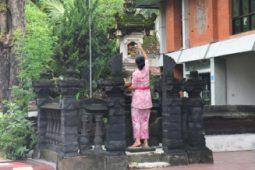 [홍선기의 섬이야기] 발리의 카낭사리(Canang Sari), 신의 색깔
