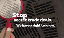 [보도자료] 민주적 참여와 투명성 확보에 실패한 비밀스러운 무역협정, RCEP