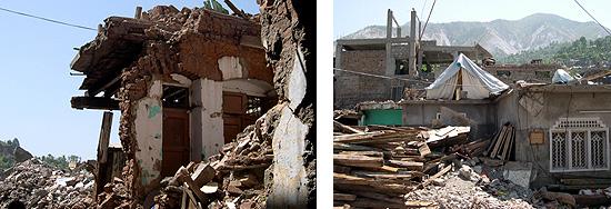 """▲(위)이슬람 핸드가 지원하는 난민촌<br />▼(아래)지진의 진원지중 하나인 니넘 계곡, 지진후 큰 호수가 2개 생겼고 파키스탄 정부는 이곳에 댐을 지으려 한다고 한다. ' src='http://kfem.or.kr/kbbs/data/cheditor/0701/data_hissue_1151043091_DSCF0964.JPG' align=absMiddle><br />▲(위)이슬람 핸드가 지원하는 난민촌<br />▼(아래)지진의 진원지중 하나인 니넘 계곡, 지진후 큰 호수가 2개 생겼고 파키스탄 정부는 이곳에 댐을 지으려 한다고 한다. </p> </div> <p>이번에 파키스탄을 같이 방문한 그룹은 아시아 태평양 지역에서 여성들의 권리와 인간다운 삶을 위해 노력하는 11개국 여성단체들(APWLD)의 활동가들이었습니다. 한국에서는 환경운동연합이 그 멤버로 참여하는데 법률센터의 정남순 변호사와 동행했습니다. APWLD에는 인도에서 GMO 반대를 통해 여성의 권익을 찾는 단체, 몽고에서 환경을 해치지 않도록 다국적 기업의 광산 활동을 감시하는 여성권익단체, 태국에서 쓰나미 피해 복구와 어민들의 생계복구 프로그램을 하는 단체와 인도네시아 아체에서 쓰나미 복구를 위해 노력하는 단체 활동가들도 포함되어 있었습니다. 우리의 방문목적은 최근의 빈번한 자연재해로 인한 주민들의 고통을 파키스탄을 예로 살펴보고 특히 자연자원에 대한 주민들과 여성들의 접근을 통해 대책을 생각하려 했습니다. </p> <p>파키스탄의 수도 이슬라마바드는 잘 기획된 계획도시로 5월말 기온은 40도를 넘었지만 곳곳의 녹지와 공원, 낮은 습도로 인해 """"40도임에도 사람이 살수 있구나""""하는 생각을 갖게 하는 깨끗한 했습니다. 그런데 이슬라마바드에서 에어컨도 없는 승합차를 6시간 타고 카시미르의 수도 무자파라바드로 향할 때 아시아의 태양과 더위를 확인할 수 있었습니다. 반팔 밖으로 나온 팔이 벌겋게 익어 그 더위에도 몸을 햇빛으로부터 보호하기 위해 둘둘 감쌀 수 밖에  없었습니다. 저뿐만 아니라 필리핀이나 인도네시아에서 온 활동가들도 """"오늘이 내 생애 가장 더운 날이라는 말""""이 절로 나왔습니다. </p> <div align=center><IMG style="""